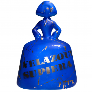 menina blue-velazquez-antonio azzato
